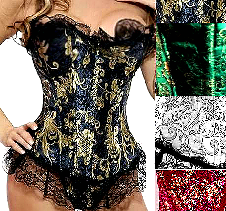 BROWSE CORSETS BY COLOR