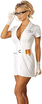 Steamy hot nurse,  sexy pharmacist, or dirty girl doctor - you decide!