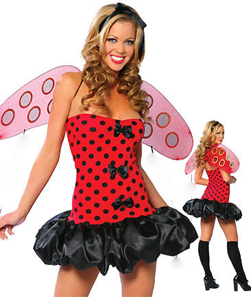 Sexy and Tantalizing Lady Bug Costume 2X-4X